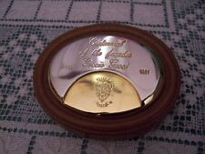 VTG GUCCI Paperweight 1971  Desk CENTENNIAL FOUNDER GUCCIO GUCCI Advertisment