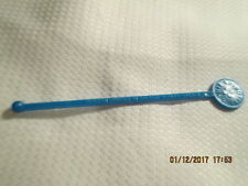 RARE Vintage Blue EPIROTIKI Cruise Lines Ancient World GREECE Swizzle Stir Stick