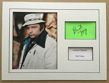 BURT YOUNG AUTHENTIC ROCKY SIGNED 16X12 MOUNTED DISPLAY AFTAL & UACC [12803]