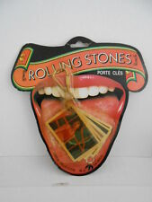 Rolling Stones rare vintage Keychain with Photos 1980s