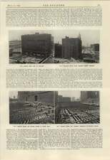 1924 Moving Illinois Central Railroad Building Chicago 2 Pacific Ship