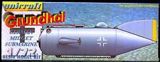Unicraft Models 1/72 GRUNDHAI German WWII MIdget Submarine