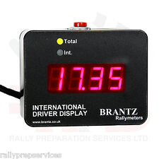 Brantz Internazionale 2 Driver Display Unit staccabile Race Rally OFF ROAD