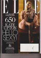 ELLE MAGAZINE SEPTEMBER 2013, KATE UPTON FASHION ISSUE + NAIL GUIDE.