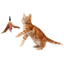 5Pc Feather REFILLS for Da Bird feather wand cat toys Interactive Toys