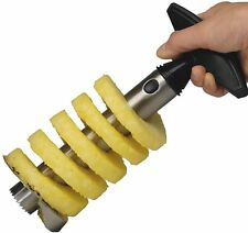Pineapple Corer Slicer Cutter Peeler Stainless Steel Kitchen Easy Gadget Fruit