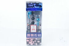 NAXA Electronics NE-921 BL High Performance Isolation Stereo Earphones, Blue