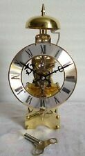 31 days Mechanical Windup Skeleton Table Clock