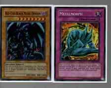 Super Rare Holo Set - Red Eyes Black Metal Dragon & Metalmorph PP01-EN014 & 015