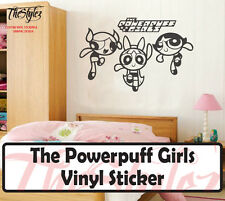 Powerpuff Girls Wall Vinyl Sticker