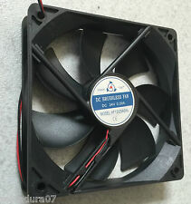 Ventilador Friccion 120x120x25mm 24V DC - 0,20 Amperes Brushless FAN XF12025ASHL