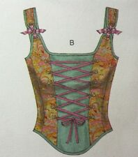 Womens Pattern Renaissance Costume Corset Sz 12 14 16 20 Butterick 4377 NEW