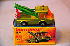 Matchbox Superfast Nr.74B Toe Joe grünmet. kleine maltese cross Räder top mib