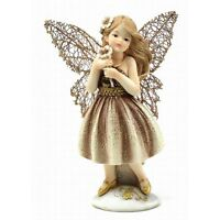 Fairy Dreams Collection  Fairy Standing With Flower Figurine  Fairies Ornament
