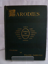PARODIES OF THE WORKS OF ENGLISH & AMERICAN AUTHORS by WALTER HAMILTON 1889