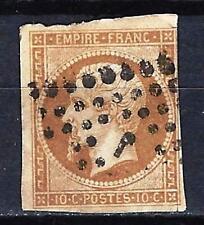 France 1853 type Napoléon III Yvert n° 13A oblitéré 1er choix (1)