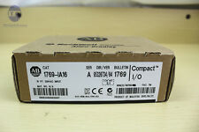 Allen Bradley AB 1769-IA16 PLC Input Catalog New in box