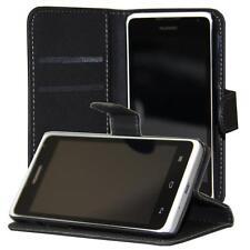 Huawei Ascend Y530 portafoglio custodia protettiva nero wallet case cover