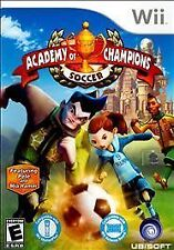 Academy of Champions Soccer GAME Nintendo Wii & WII U