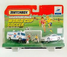 MATCHBOX ADVENTURE PACK FRANCE 98 WORLD CUP SOCCER - REAL MOVING PARTS - RARE