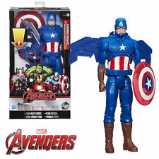 MARVEL AVENGERS TITAN HERO SERIES VOLT GLIDER CAPTAIN AMERICA ACTION FIGURE TOY