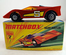 Matchbox Superfast ☆ n°7 Hairy Hustler ☆ 1972 Lesney 1:64 en boite/inbox