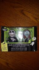 DISNEYS NIGHTMARE BEFORE CHRISTMAS JACK AND SALLY WIND UPS TOY BOXED