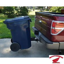 """TOTE CADDY TRASH CAN TRANSPORTER UNIVERSAL USE WITH 2"""" TRAILER HITCH RECEIVER"""