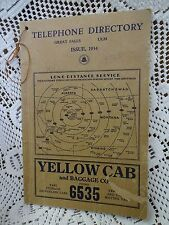 RARE Vintage 1934 Bell Telephone GREAT FALLS, MONTANA Directory Phone Book