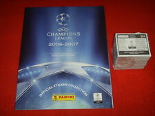 ALBUM FIGURINE PANINI CHAMPIONS LEAGUE 2006 2007 07 VUOTO EMPTY + SET COMPLETO