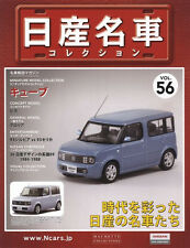 [MODEL+BOOK] Nissan meisha collection vol.56 1/43 Cube Z11 BZ11 Japan HACHETTE