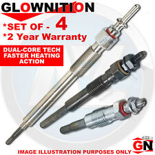 G1018 For BMW 3 318 td 318d 320 Cd 320d Glownition Glow Plugs X 4