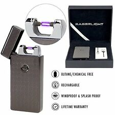 Electric Arc Metal Flameless Torch USB Rechargeable Windproof Lighter cigarette
