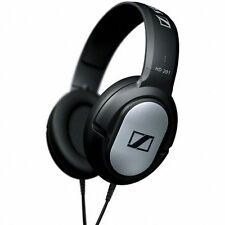 Sennheiser HD 201 Closed Stereo Black Over Ear Headphones - Brand New