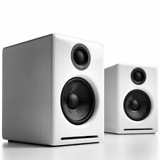 New... AudioEngine A2+ Active Speakers with USB in Gloss White