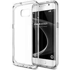 VRS Design, Crystal Mixx, Slim Clear Bumper Case For Samsung Galaxy S7 Edge RA2A