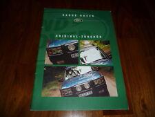 Range Rover Zubehör Prospekt 1998