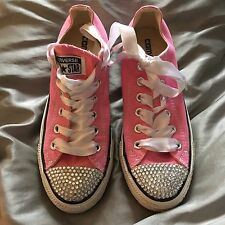 Converse All star Pink With Bling Toes