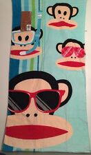 "New Paul Frank Sock Monkey Beach Towel 28""X58"" for Target"