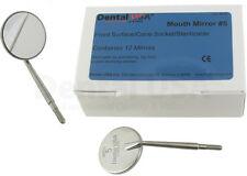 Dental USA Equipment #5 Stainless Steel Mirror C/S Front Surface Box 12 EA New