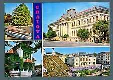 ROMANIA - Cart. Post. - 1971 - CRAIOVA, immagini della città. 40 bani. E4792