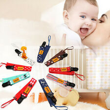 1 Pc Multi  Baby Pacifier Soother Dummy Clip Holder String Strap Chain Random