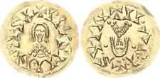 Gold tremissis 621-631 antique/wisigoths/suinthila wisigoths 1,27g, vz-st
