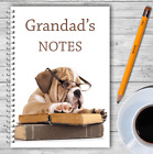 A5 & A4 PERSONALISED NOTEBOOKS, NOTE BOOK, NOTE PAD, 50 LINED OR BLANK /04