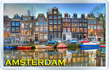 AMSTERDAM FRIDGE MAGNET SOUVENIR NEW MOD.2 IMÁN NEVERA