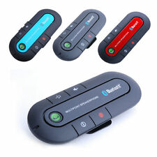 New Wireless Bluetooth Handsfree Car Speaker Headphone Visor Clip For Cell Phone