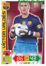 037 VICTOR VALDES ESPANA FC.BARCELONA CARD PANINI ADRENALYN LIGA 2013