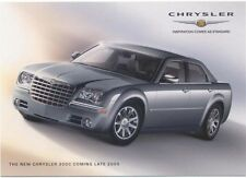 Chrysler 300 C 2005 original Postcard for the UK market