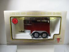 1/18 SCALE MOTOR CITY CLASSICS HORSE TRAILER
