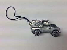 Land Rover Series 1 SWB ref112 3D car pewter effect moblie phone charm
